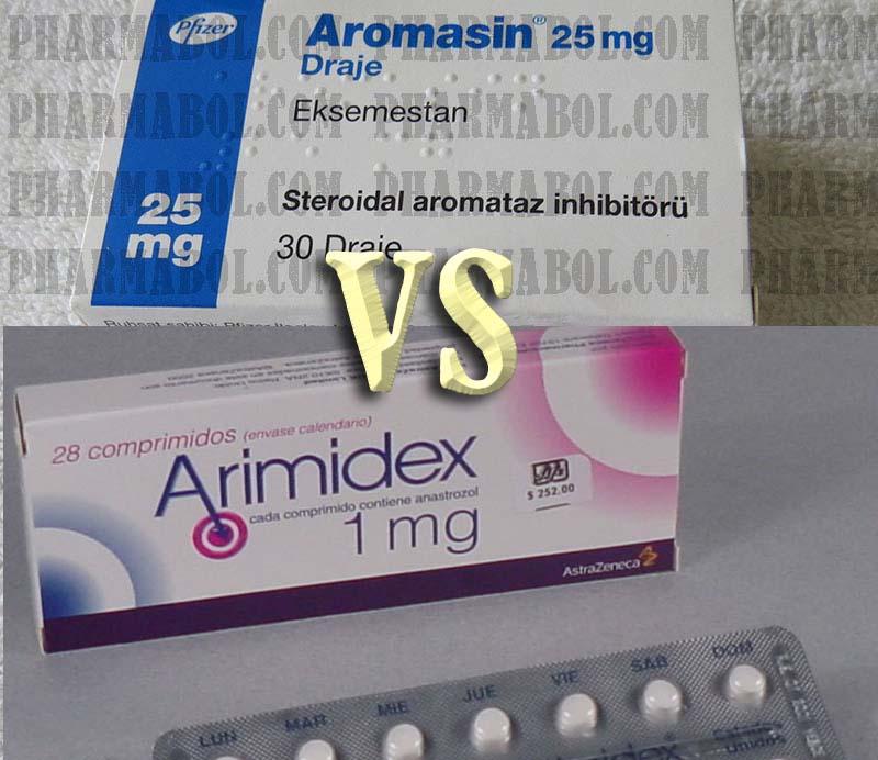 Arimidex vs Aromasin